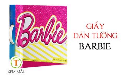 gia Giấy dán tường Barbie (5m2)