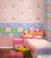 Dán tường đẹp cho không gian của bé
