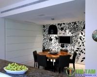 Giấy dán tường - những lưu ý khi sử dụng giấy dán tường