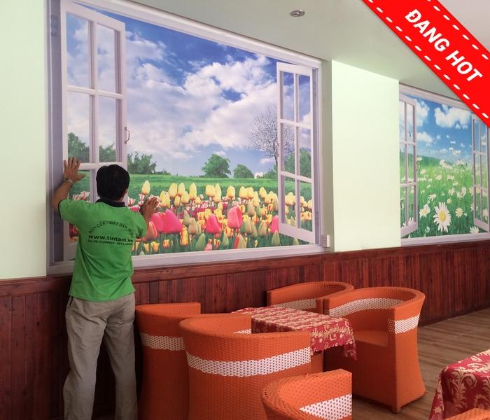 tranh dán tường phong cảnh, tranh dan tuong phong canh, tranh dan tuong 3d, tranh dan tuong phong canh 3d, tranh dan tuong thien nhien
