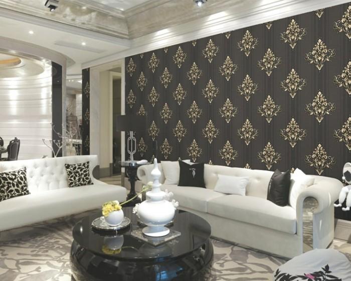 giấy dán tường phòng khách cổ điển, giấy dán tường cổ điển cho phòng khách, mẫu giấy dán tường cho phòng khách, giấy dán tường cho phòng khách cổ điển