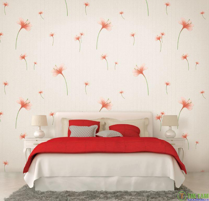 Giấy dán tường phòng ngủ - Mẫu giấy dán tường phòng ngủ đẹp nhất